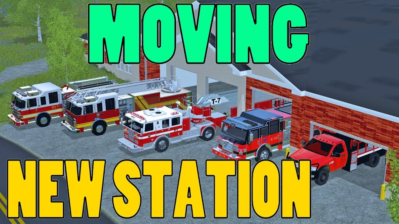 Farming Simulator 17 | Moving To New Fire Station | Ford