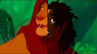 Zwierzęta z bajek Disneya = LUDZIE?!