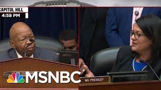 \'I Am Not Calling The Gentlemen, Mr. Mark Meadows, A Racist,\' Say Rep. Rashida Tlaib   MSNBC