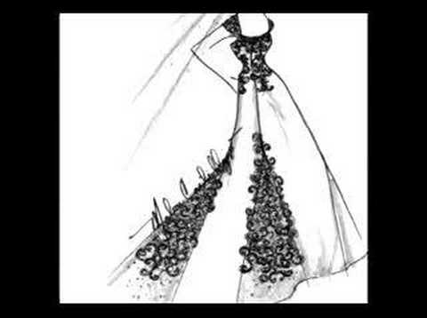 Wedding Gown Sketches by Malou Castillejos - YouTube