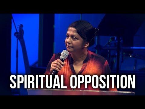 """""""Spiritual Opposition"""" – Vani Marshall"""