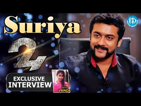 24 Movie || Actor Suriya Exclusive Interview || Talking Movies with iDream #157 | #24 Movie
