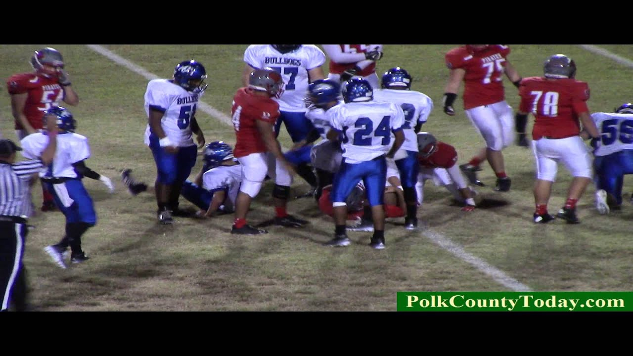 Corrigan-Camden Bulldogs vs Deweyville Pirates 10/31/14