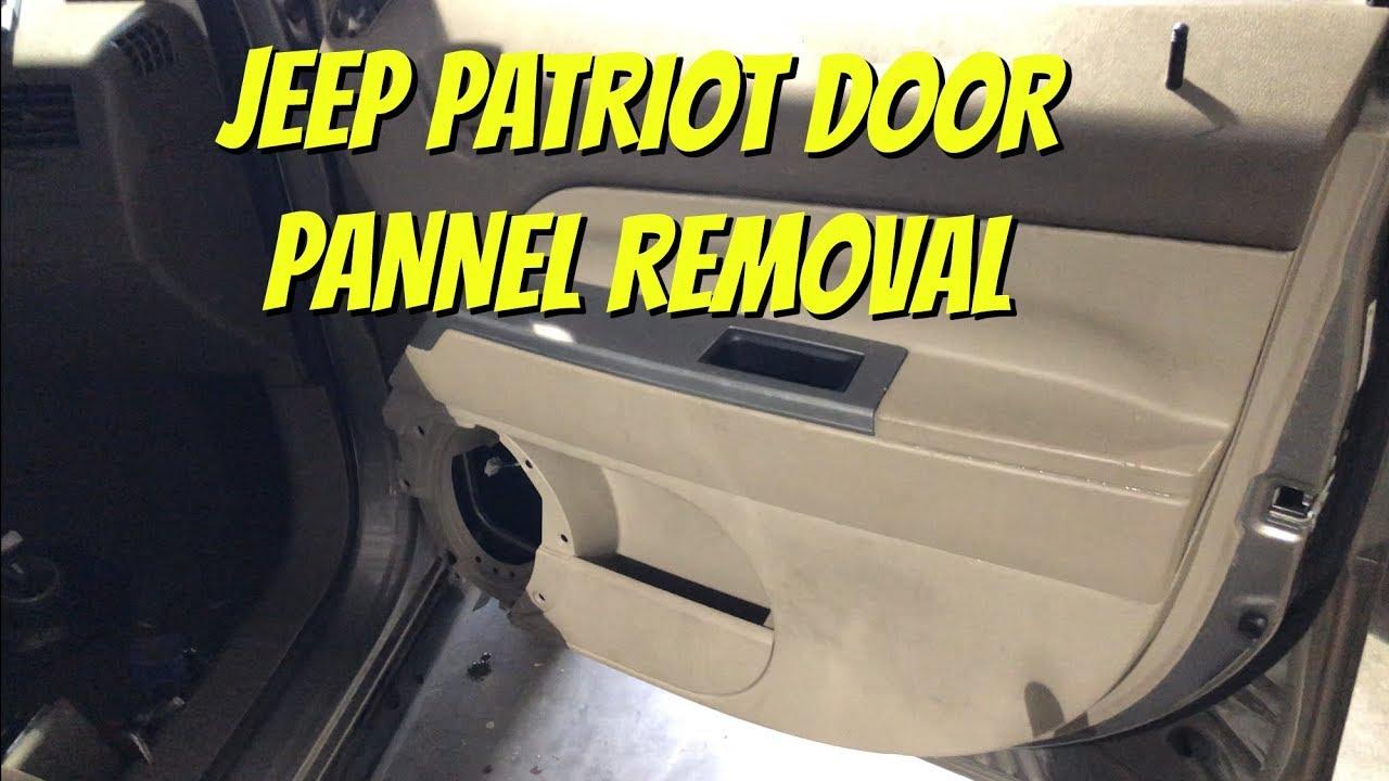 jeep patriot door panel removal speaker window latch window regulator access falcons garage [ 1280 x 720 Pixel ]