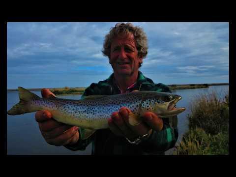 Trout Fishing Waiau River Mouth NZ Eps 5