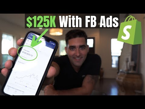 $125K With Facebook CBO Ads | Shopify Dropshipping Strategy thumbnail