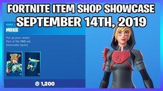*NEW* MOXIE SKIN SET! (Fortnite Item Shop 14th September)