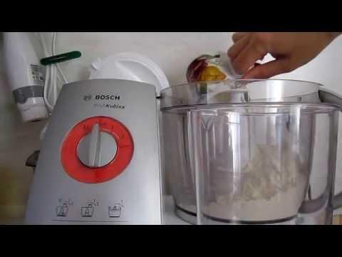 Как замесить тесто в кухонном комбайне