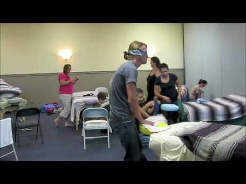 Blindfold Massage With Gretchen Cole