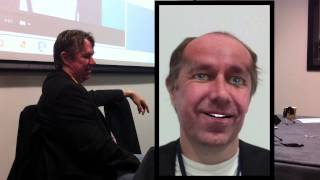 Alastair Reynolds Becomes an Animated Character at Loncon 3