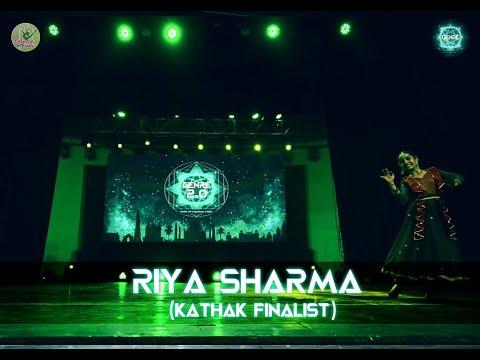 Kathak Finalist- Riya Sharma | Genre 2.0 | Dance Competition