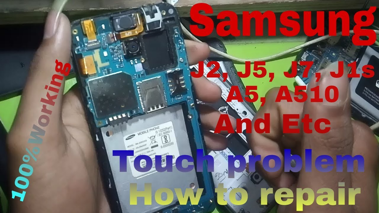 Samsung j2,j5,j7,And Other Touch Not Working Problem Soultion