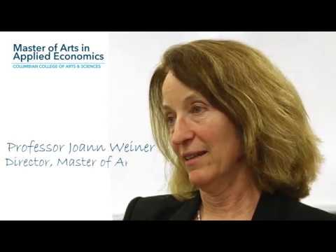 Master of Arts in Applied Economics