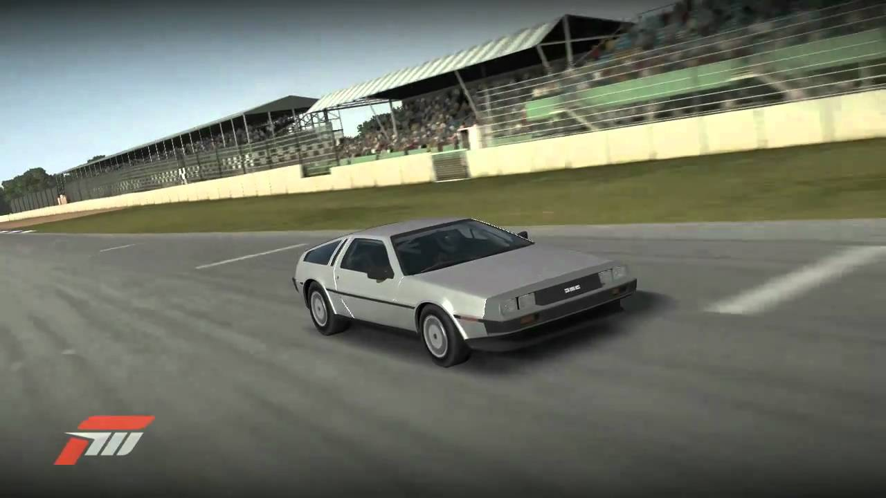Delorean Hoonage at Silverstone in Forza Motorsport 3 - YouTube