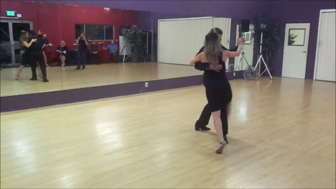 Argentine Tango steps sequence review www.tangonation.com 12/17/2019 - YouTube