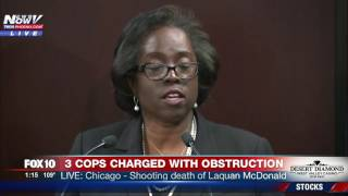 PRESS CONFERENCE: 3 Chicago Officers Charged in Alleged Cover-Up of Laquan McDonald