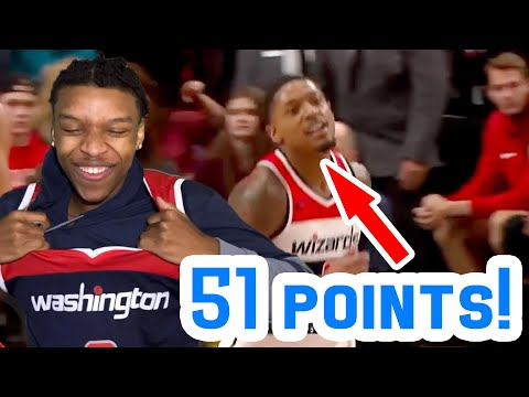 BRADLEY BEAL 51 POINTS! GREATEST VIDEO OF ALL TIME!