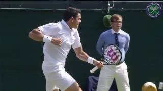 Wimbledon. Day 9 Highlights, Milos Raonic vs Sam Querrey(, 2016-07-06T19:46:17.000Z)