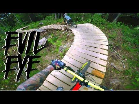 Spaßige Anfänger Downhill Strecke - Bikepark Geisskopf - Evil Eye Trail