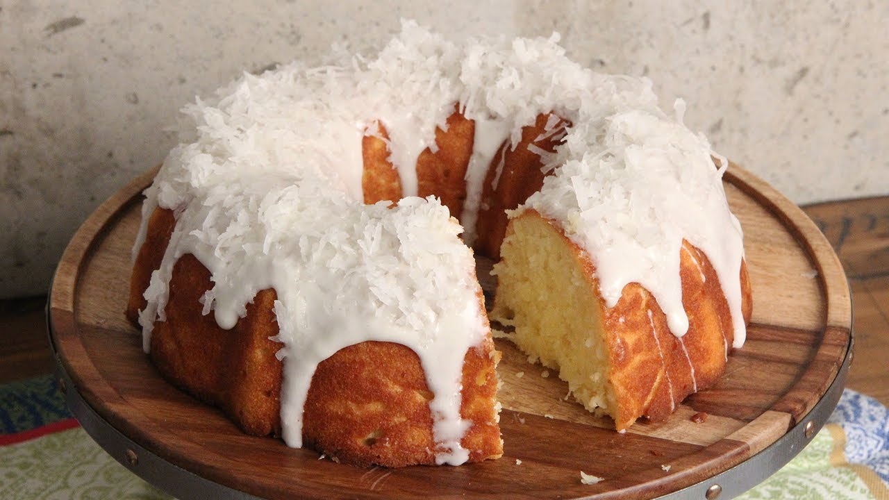 Cake Recipes In Otg Youtube: Coconut Bundt Cake Recipe