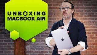 Unboxing the 2018 MacBook Air