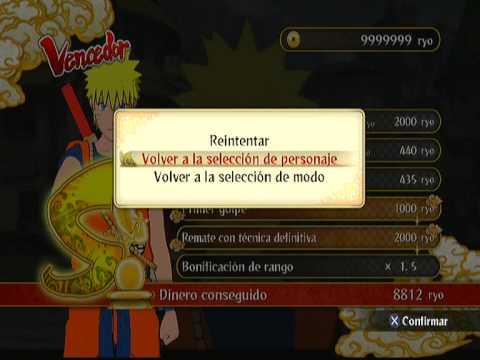 Naruto Shippuden Ultimate Ninja Storm 3:HACKS EN PS3(Unlock All)