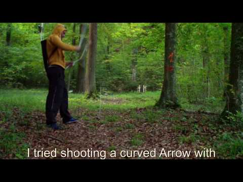 Curving Arrow - no manipulated Arrows