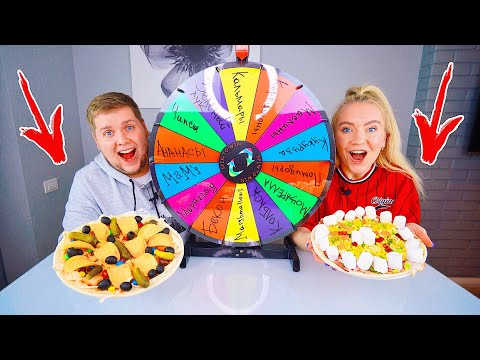 ТАЙНОЕ КОЛЕСО ПИЦЦА ЧЕЛЛЕНДЖ 🍕 MYSTERY WHEEL OF PIZZA CHALLENGE