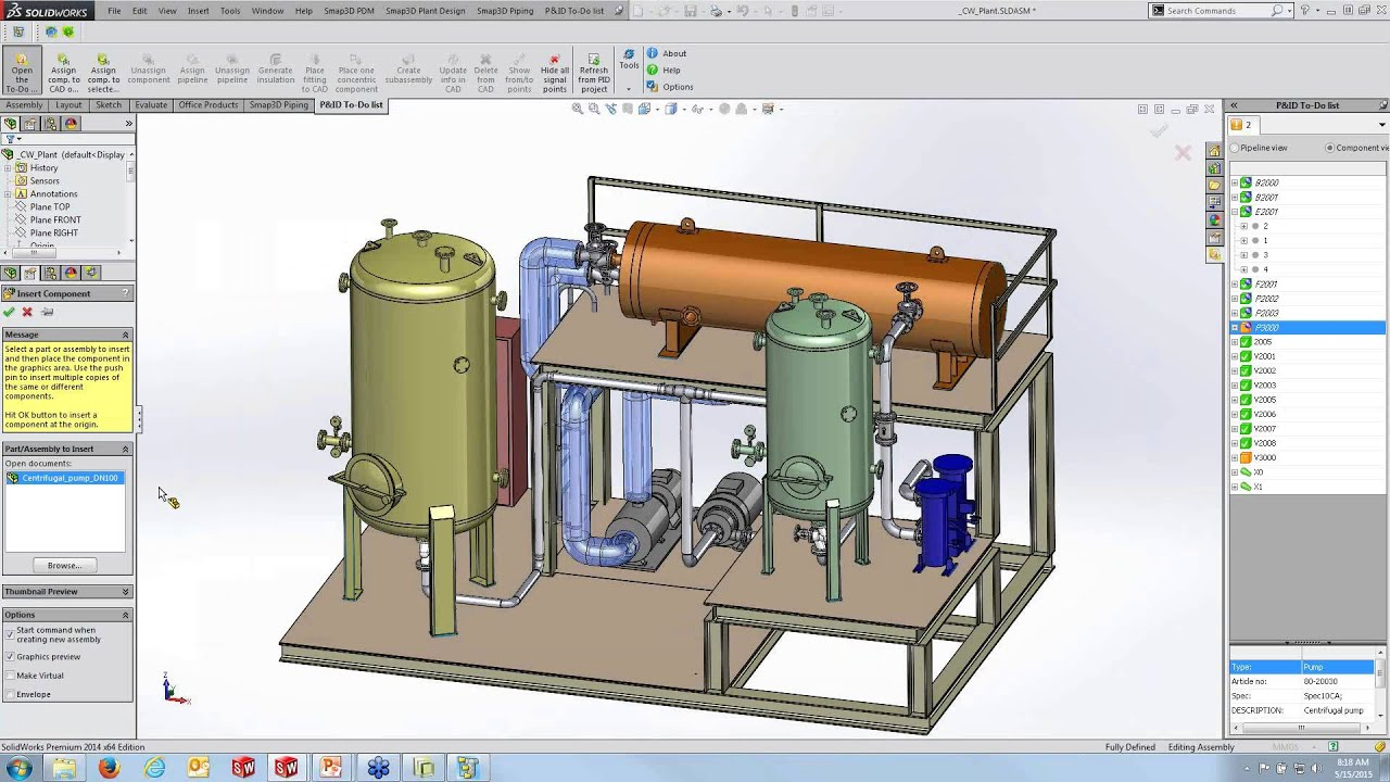 integrated process flow p id piping and isometrics with rh youtube com piping and instrumentation diagram solidworks piping and instrumentation diagram solidworks