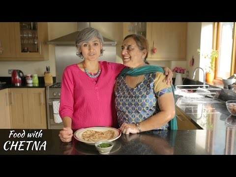 Mum's Aloo Paratha!!!- Food with Chetna