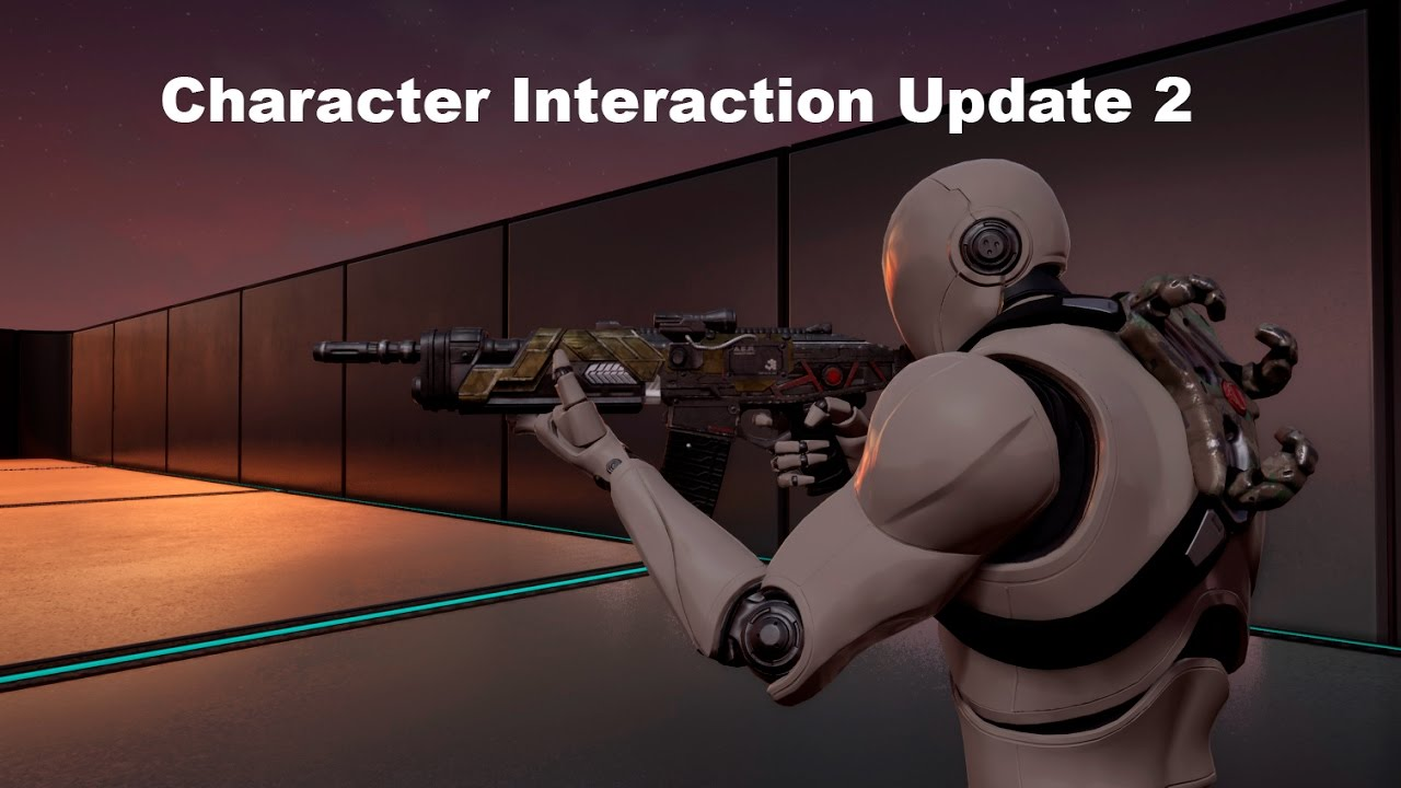 [UE4] Marketplace - Character Interaction (Update2)