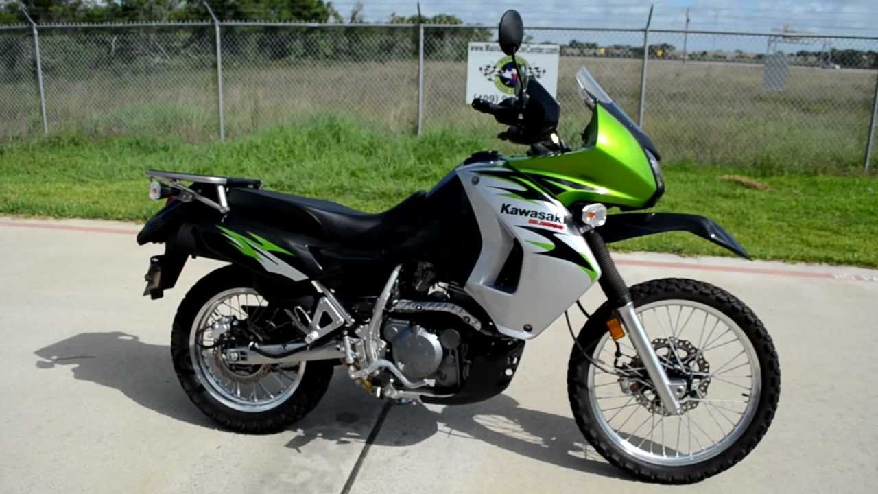 medium resolution of 2008 klr650 candy lime green overview review walk around