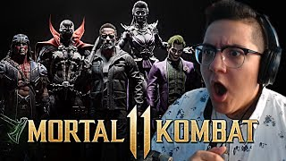 Mortal Kombat 11 - OFFICIAL KOMBAT PACK TRAILER REACTION!