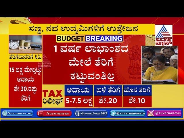 Budget 2020 LIVE Updates; Nirmala Sitharaman Announces Big Income Tax Relief