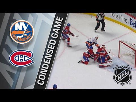 01/15/18 Condensed Game: Islanders @ Canadiens