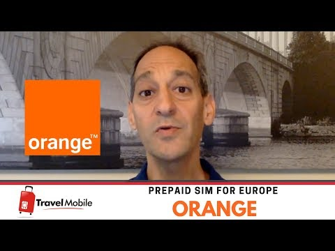 ORANGE | Prepaid SIM Card For Europe | TRAVEL MOBILE - English