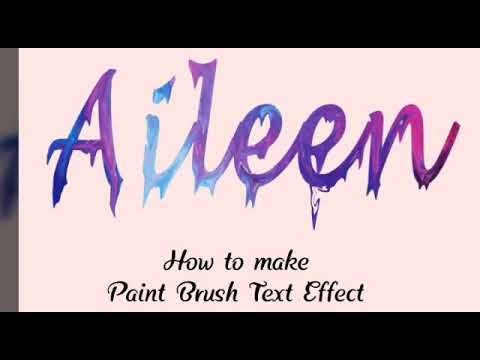 Paint Brush Effect | Easy Photoshop Tutorial thumbnail