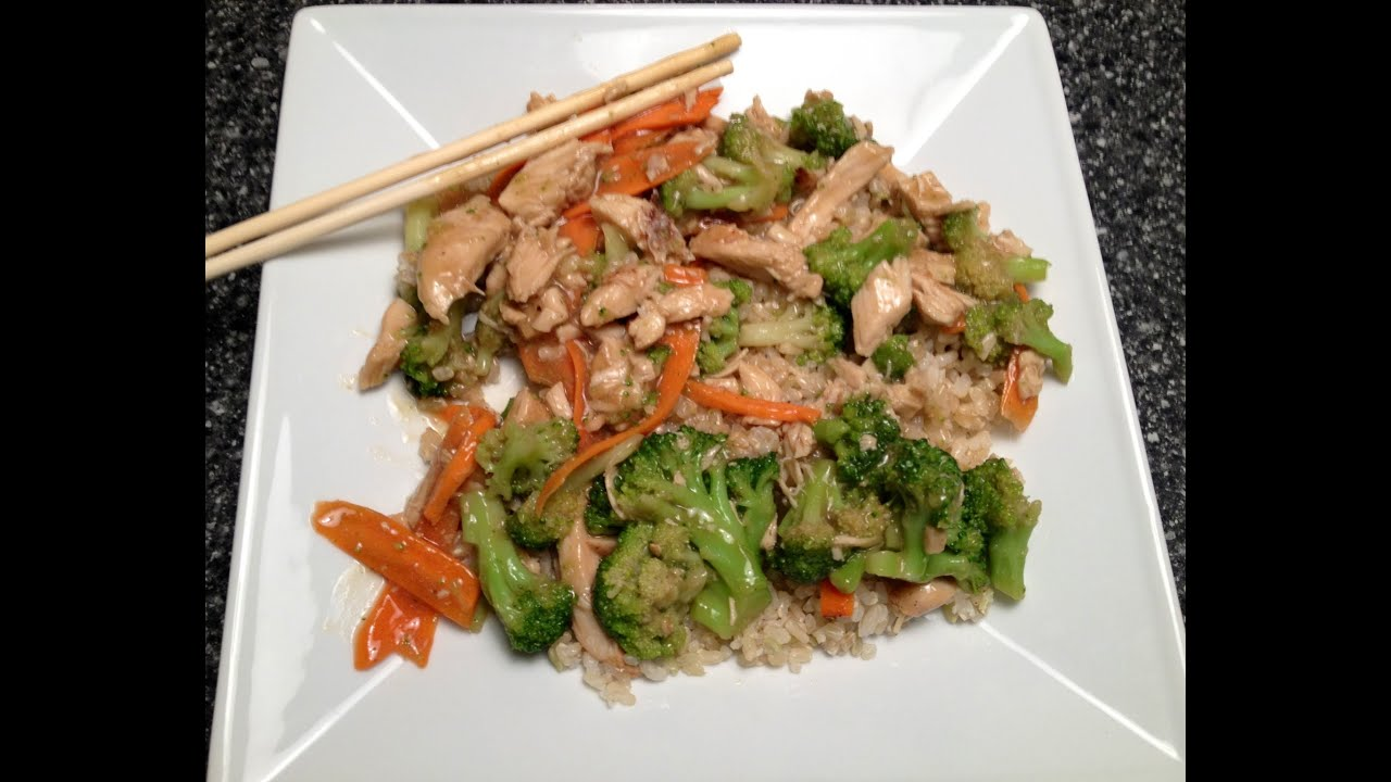 Weight watchers friendly missing chinese takeout make ur own weight watchers friendly missing chinese takeout make ur own chicken broccoli 2 point recipe youtube forumfinder Images