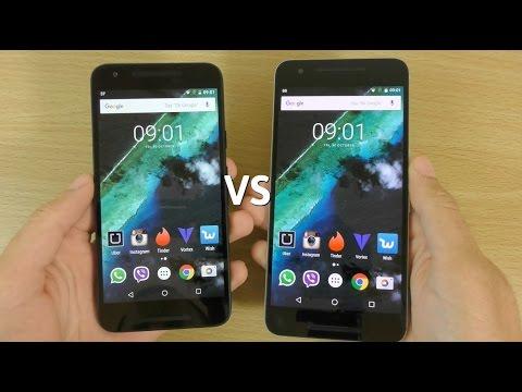 Google Nexus 6P VS Nexus 5X - Speed Test