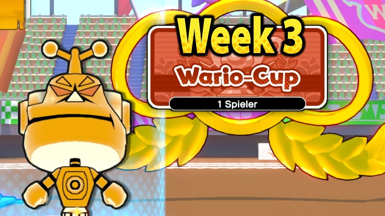 WarioWare Get It Together! - Wario Cup: Week 3 Timed IQ Test-o-rama (Gold Trophy & A Rank)