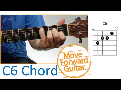 Guitar Chords for Beginners - C6
