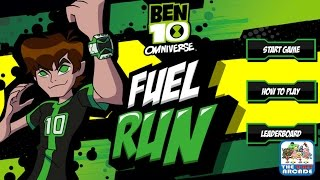 Ben 10 Omniverse: Fuel Run - Collect All Fuel And Get To The Exit (Cartoon Network Games)