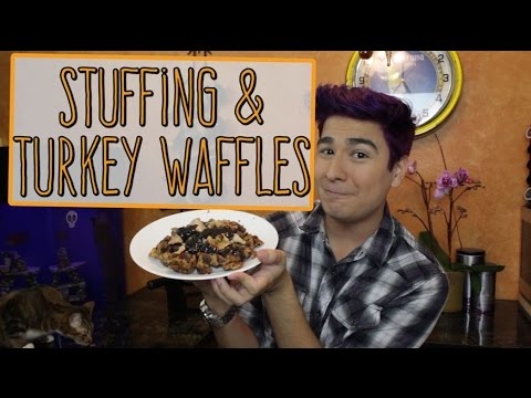 Save Stuffing Waffles Pictures