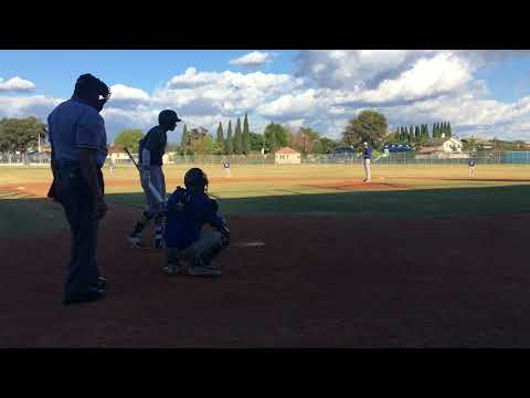 Pablo Small vs Cal high- strikeout (2-22-18)
