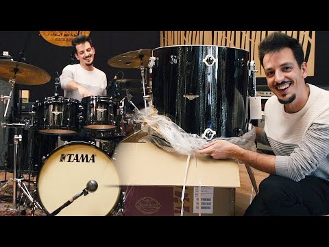 TAMA Starclassic Maple | In Studio Unboxing + Test-Drive