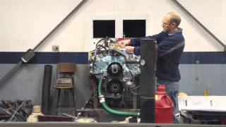 1965 GTO engine dyno (428) Tripower