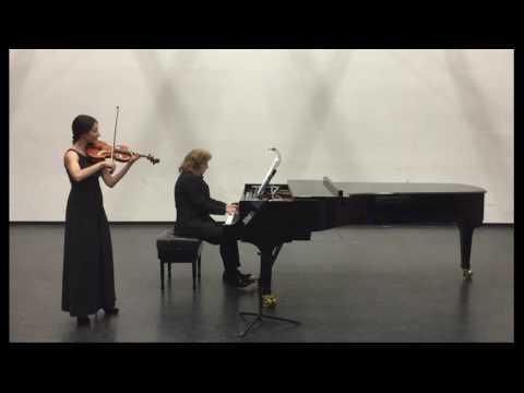 KHACHATURIAN ADAGIO From Spartacus - Olena Savka Violin, Taras Abazopulo-Yashchenko Piano
