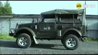 ГАЗ-69, он же''козлик''. Навороченный вариант :-)