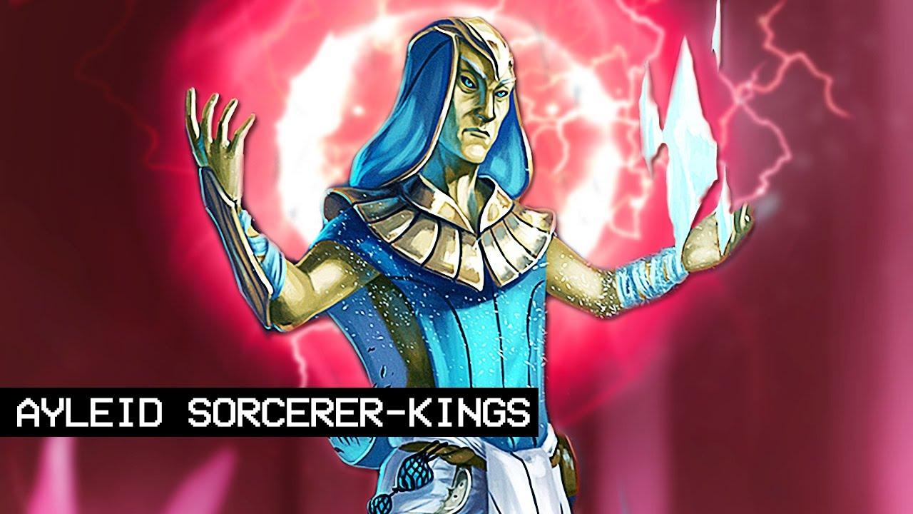 Theories About the Ayleid Sorcerer-Kings of Legend - Elder Scrolls Lore