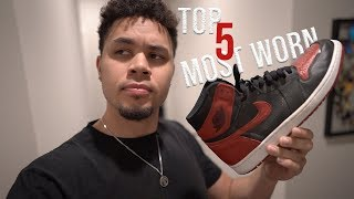 MY TOP 5 MOST WORN SNEAKERS OF 2019